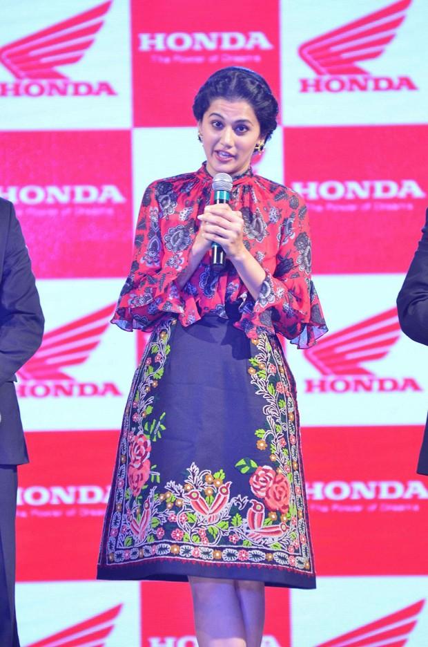 Taapsee Pannu,Honda launches new Aviator,Activa-i,honda launches new Aviator,Honda launches new Activa-i,Activa-i,Aviator,Honda Aviator,Honda Activa-I,Taapsee Pannu Launched Activa-I and Aviator,Actress Taapsee Pannu,Taapsee Pannu pics,Taapsee Pannu imag