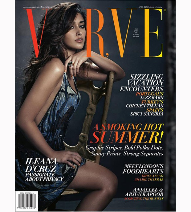 Ileana D'Cruz Verve Magazine Photoshoot,Ileana D'Cruz,actress Ileana D'Cruz,Ileana D'Cruz latest pics,Ileana D'Cruz latest images,bollywood actress,south indian actress,Verve Magazine Photoshoot,Verve Magazine