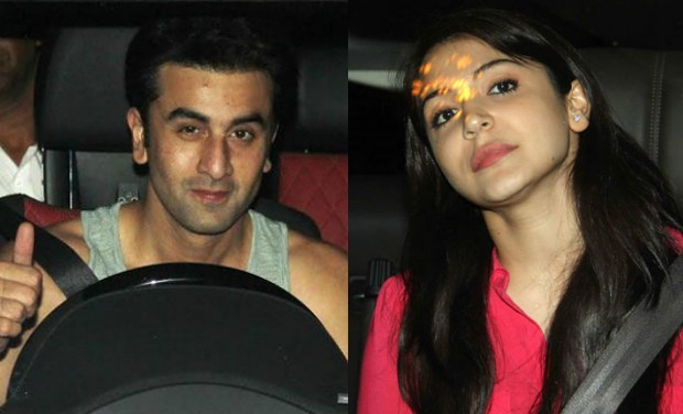 Ranbir Kapoor and Anuskha Sharma
