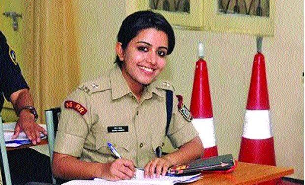 IPS Trainee Officer Merin Joseph