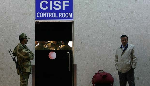 CISF claims that the AAI personnel tried to snatch the gun from its guard.