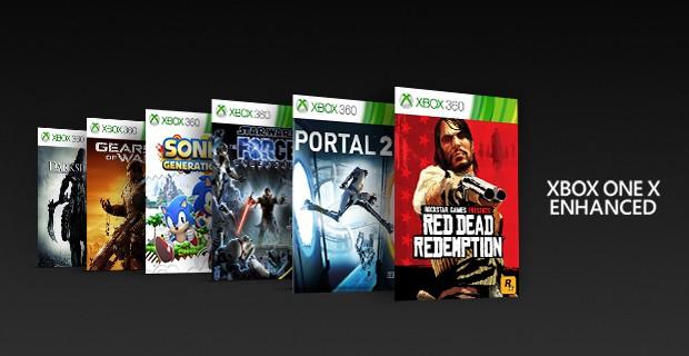 Original Xbox games with backward compatibility
