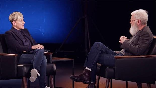Ellen DeGeneres on David Letterman
