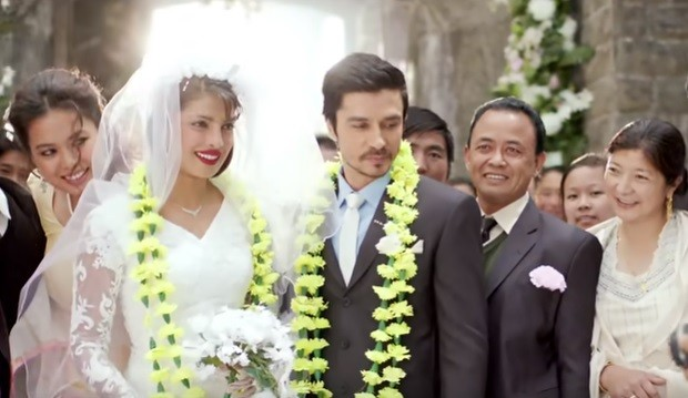 Priyanka Chopra and Darshan Kumar in Mary Kom