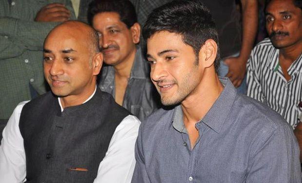 Mahesh Babu with Ashok's father Galla Jayadev