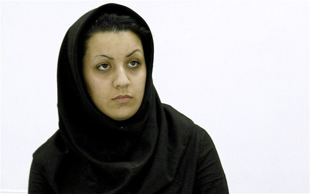 An Iranian woman, Rayhaneh Jabbari, who killed her rapist is to be hanged on Tuesday.