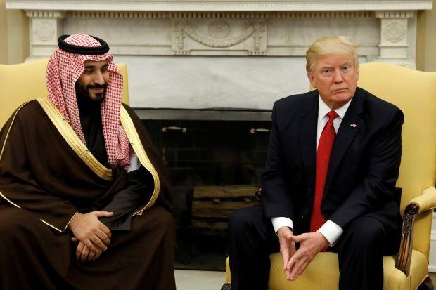 Donald Trump Saudi Prince