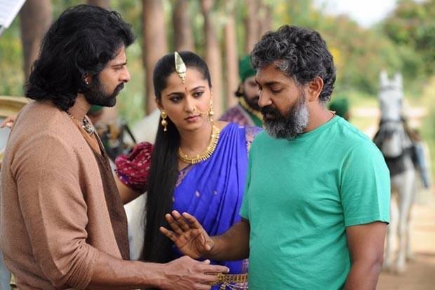 Prabhas on Baahubali 2 sets