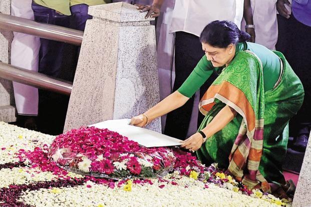 Sasikala,V.K. Sasikala,General Secretary V.K. Sasikala,AIADMK,AIADMK General Secretary,Jayalalithaa's memorial,Jayalalithaa