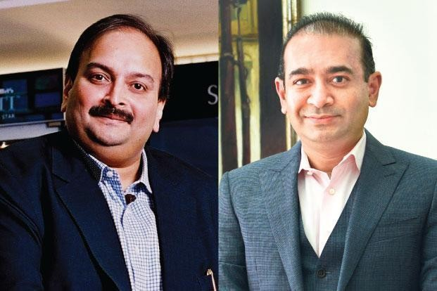 Mehul Choksi and Nirav Modi