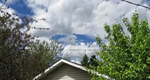 UFO Sighting: Strange Object seen Flying by Canada (You Tube Screenshot/unicusCDN)
