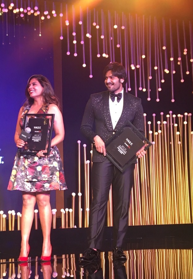 Richa Chadha and Ali Fazal,Shahid and Mira,most beautiful couple of the year,couple of the year,Richa Chadha and Ali Fazal wins couple of the year,Vogue Beauty Awards,Vogue Beauty Awards 2018