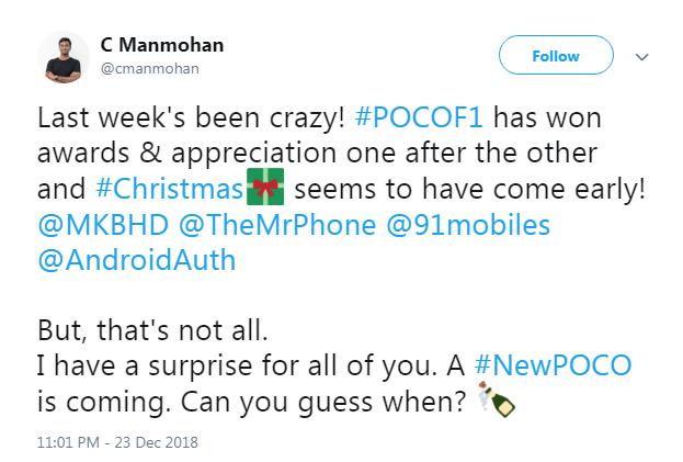 New Poco Phone teased