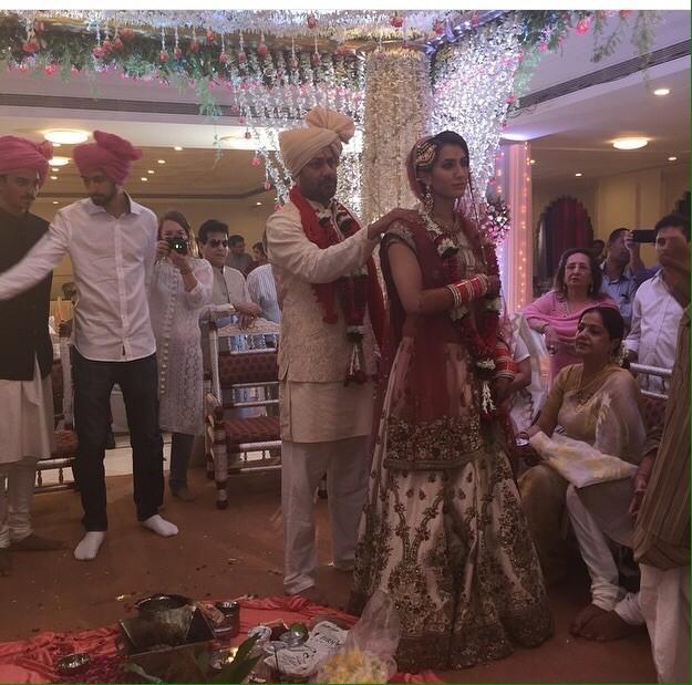 Director abhishek Kapoor,Abhishek Kapoor weds Pragya Yadav,Fitoor director,Rock On,wedding pictures,photos