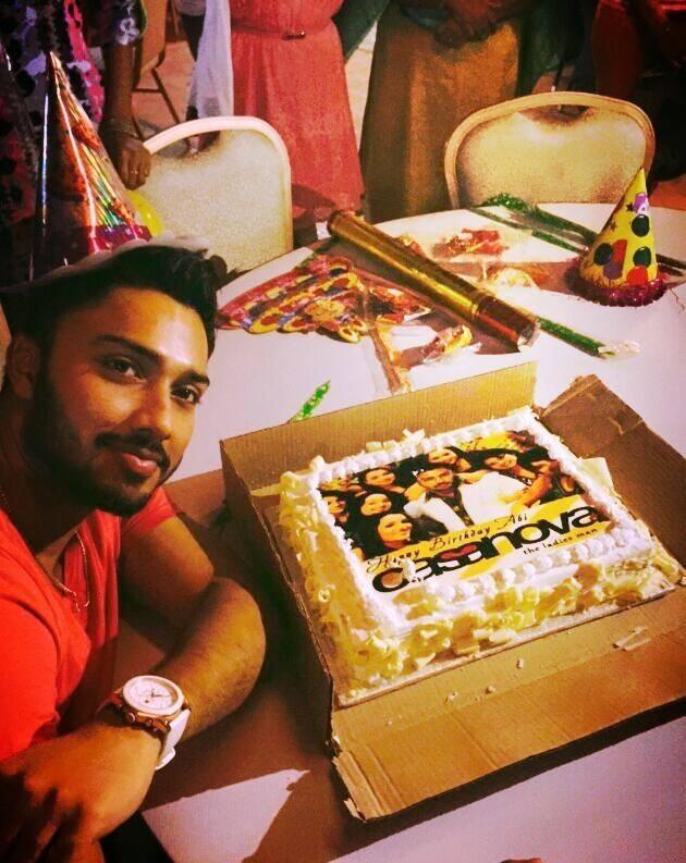 Amala Paul-AL Vijay Celebrate Brother Abhijith's Birthday