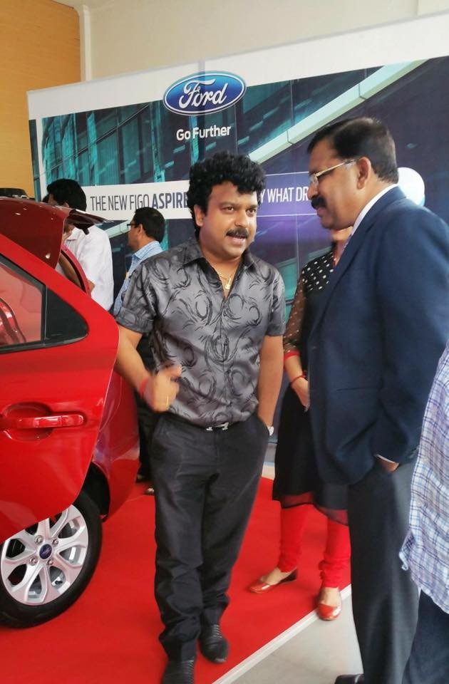 Deepak dev,Ford figo aspire,Ford figo aspire launch,Ford figo aspire unveiled in kochi