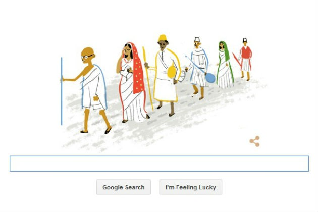 Google Doodle,India's Independence Day,Independence Day,69th Independence Day,Independence Day 2015
