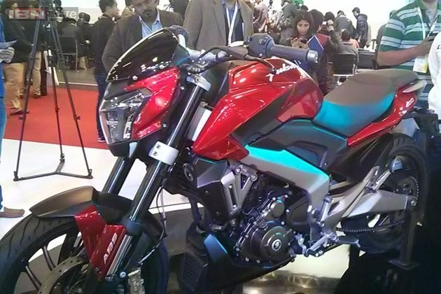 Bajaj Pulsar CS 400 at the Auto Expo 2014