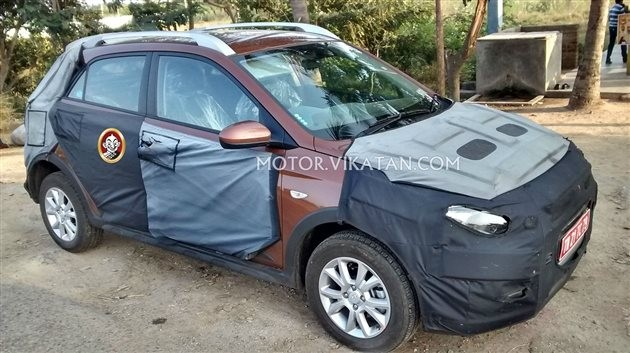 Hyundai Elite i20 Cross Spied Once Again; Top Changes In The Upcoming Hatchback Revealed