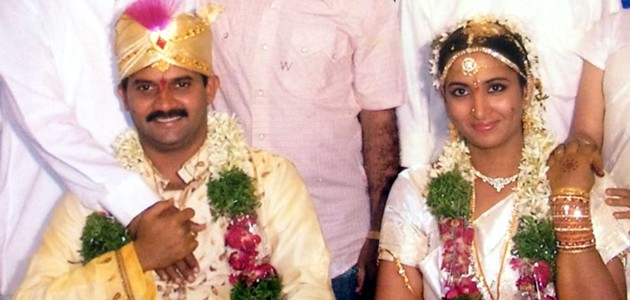 Vijay Sai with wife Vanitha Reddy