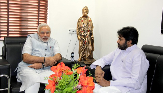 Pawan Kalyan and Narendra Modi
