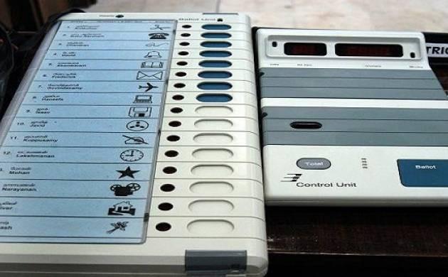 Electronic voting machine