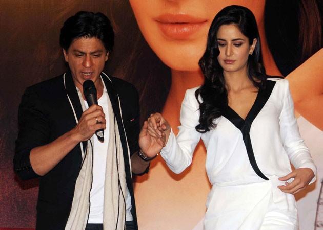 Shah Rukh Khan and Katrina Kaif