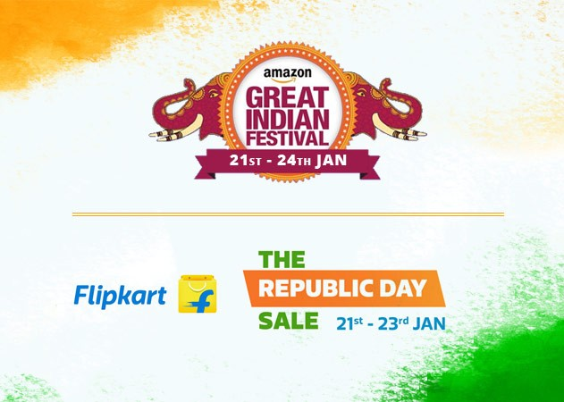 Flipkart and Amazon Sale 2018