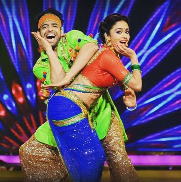 Amruta Khanvilkar, Himmanshoo Malhotra on 'Nach Baliye 7'
