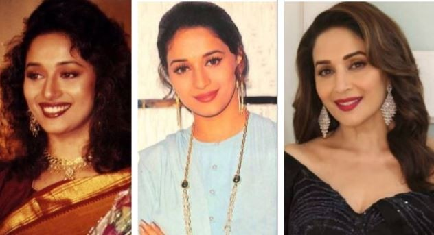 Madhuri then and now