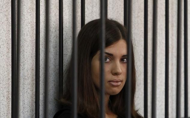 Pussy Riot's Nadezhda Tolokonnikova (Reuters)