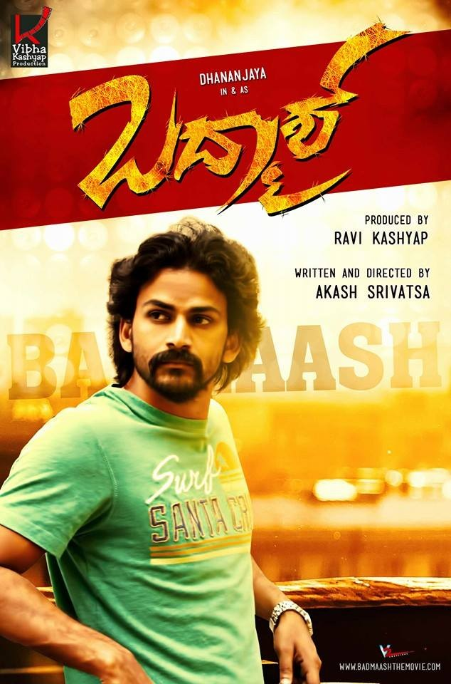 Badmaash,kannada movie Badmaash,Dhananjaya,Sanchita Shetty,Badmaash movie poster,Badmaash movie stills,Badmaash movie pics,Badmaash movie images,Badmaash movie photos