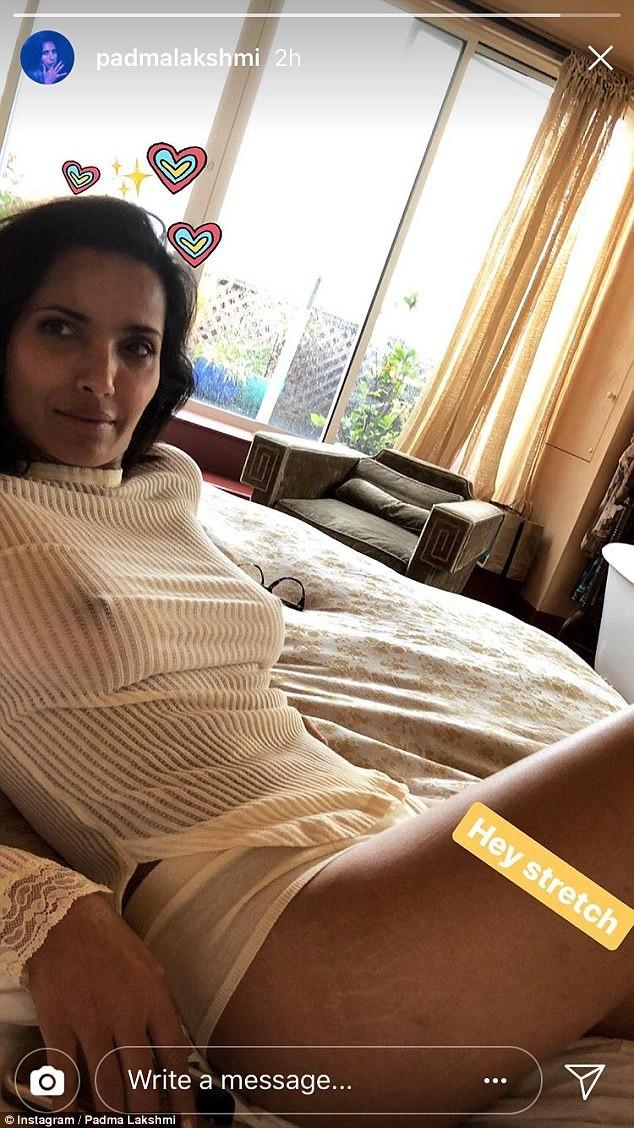 Padma Lakshmi,Padma Lakshmi stretch marks,model Padma Lakshmi,Padma Lakshmi hot pics,Padma Lakshmi hot images,Padma Lakshmi hot stills,Padma Lakshmi hot pictures