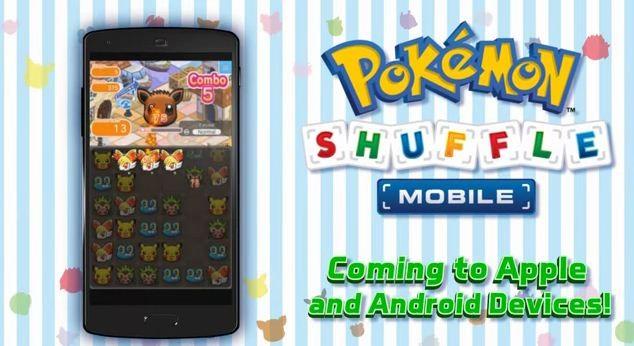 Pokemon Shuffle for mobile