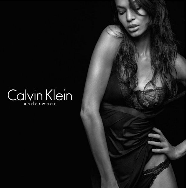 Joan Smalls for Calvin Klein