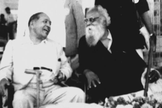 Periyar EV Ramasamy with BR Ambedkar