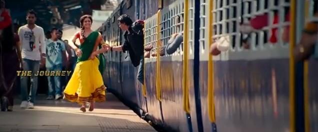 Shah Rukh and Deepika Padukone In 'Chennai Express'