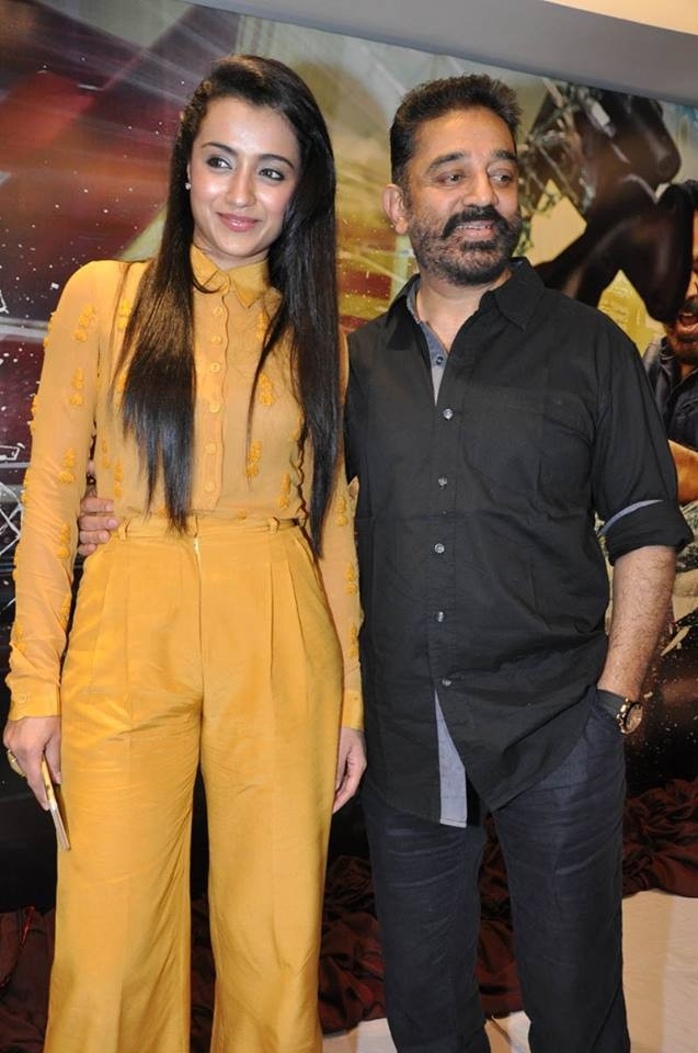 Kamal Hassan's Cheekati Rajyam Movie Poster Launch,Kamal Hassan's Cheekati Rajyam,Cheekati Rajyam,Cheekati Rajyam Movie Poster Launch,Kamal Haasan,Trisha Krishnan,Kishore,Prakash Raj,Cheekati Rajyam Movie Poster Launch pics,Cheekati Rajyam Movie