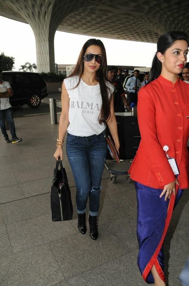Kajal Aggarwal,Kartik Aaryan,Malaika Arora Khan,Priyank Sharma,celebs at airport,Celebs at Mumbai airport