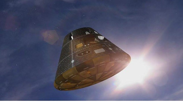 NASA's Mars mission spacecraft Orion