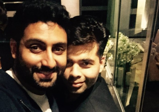 Karan Johar and Abhishek Bachchan