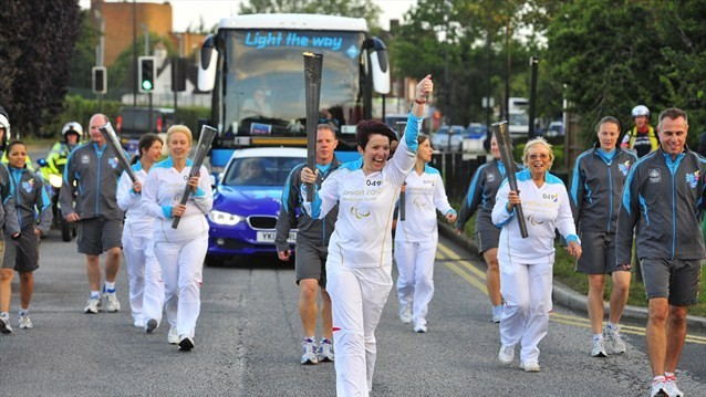 The Paralympic 24-hour Torch Relay