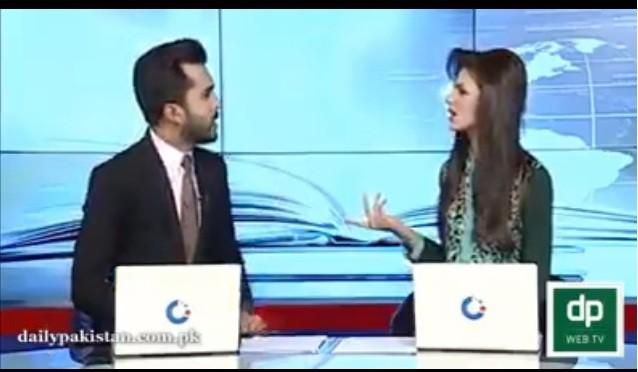 Pakistani news anchors' argument has gone viral