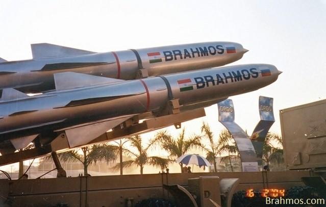 BrahMos missile.