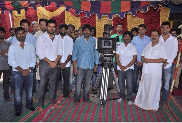 Kashmora Movie Launch,Karthi's Kashmora Movie Launch,Karthi,Karthi Sivakumar,Sivakumar,Vijay Sethupathi,Kashmora Movie pooja,Kashmora,tamil movie Kashmora,Kashmora pics,Kashmora stills,Kashmora images