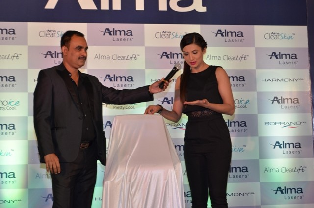 Gauahar Khan,Gauahar Khan photos,Gauahar Khan launch event,Alma Lasers,skin laser products