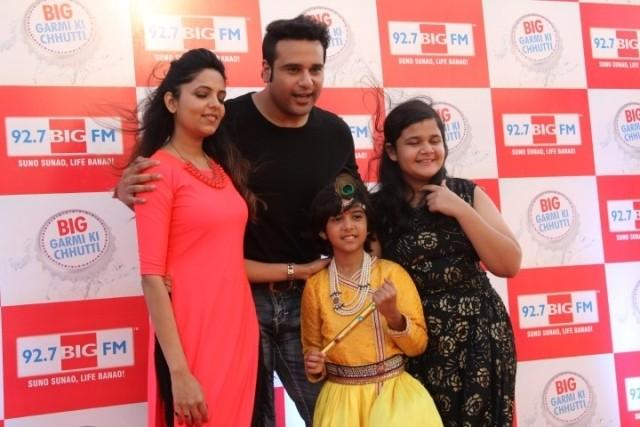 BIG Garmi Ki Chhutti,krushna abhishek,big fm 92.7,Meet Mukhi,Saloni Daini,Sugandha Mishra