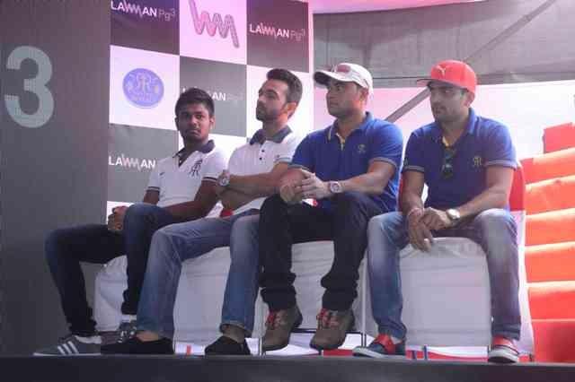 Rajasthan Royals,Rajasthan Royals team photos,K Lounge,RR team,ipl 2015