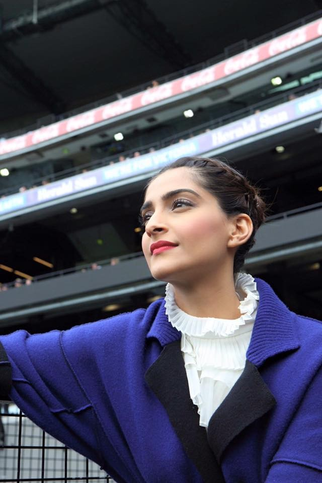 Sonam kapoor latest photos,Sonam Kapoor at Indian Film Festival of Melbourne,Sonam Kapoor at IIFM,IIFM,Sonam kapoor in Melbourne