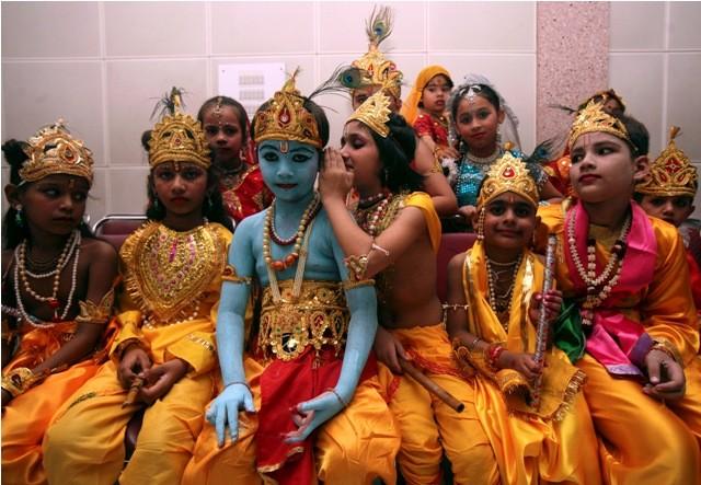 Krishna Janmashtami,Krishna Janmashtami 2015,kids as lord krishna,lord krishna,lord krishna fancy dress,sri krishna jayanthi